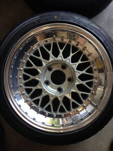 Ronal / ACT LS - 17x8.5 - $2000 North Shore Greater Vancouver Area image 2