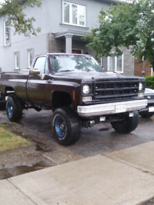 1978 GMC 3/4 TON   4x4   4 Speed Maual
