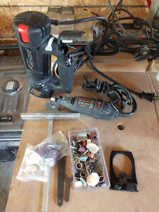 Dremel and Roto Saw with Accessories