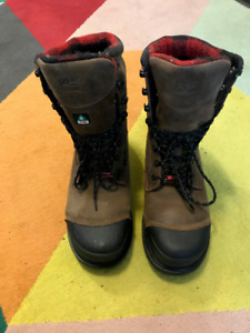 Steel Toe winter boots (gently used) FOR SALE