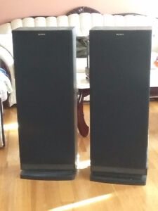 Selling Home Audio System 2 Big Sony Speakers SS-C57