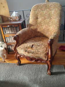 Beautiful Antique Armchair in need of a little TLC - *Very Nice*