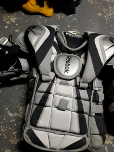 Youth goalie chest protector
