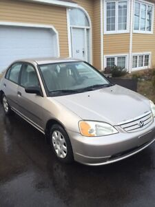 Manual Honda Civic sedan