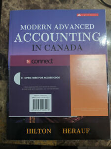 Modern Advanced Accounting in Canada 8th edition with Connect