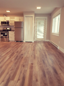 Brand new, legal, 2 bedroom main level suite