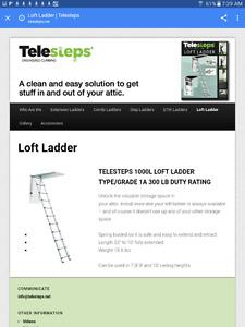Echelle grenier telescopique/Telescoping Loft Ladder