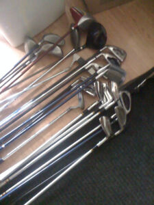 Assorted Clubs