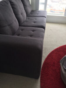 COUCH AND OFFICE CHAIR FOR $120!