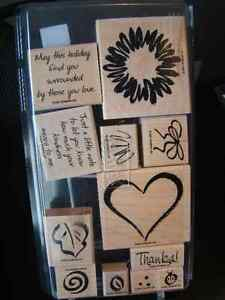 Stampin' Up Sketch It stamp set
