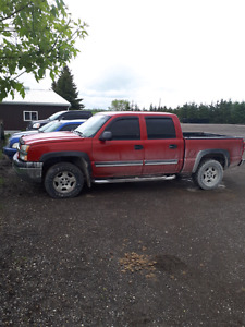 2005 crew cab Chevy Silverado for sale