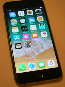 IPHONE 6 unlocked Freedom Wind Rogers Bell Telus Chatr Mobilicty