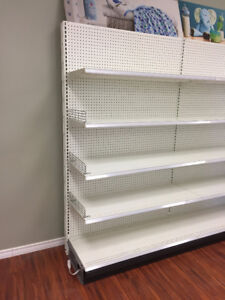 Store shelving and wall unit for sale