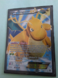 Carte pokemon Dragonite EX