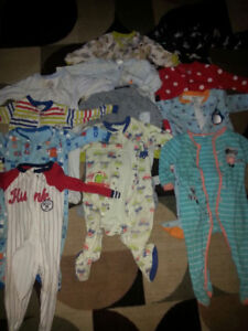 VARIETY 75 BABY BOY CLOTHES - SIZE 12 MONTHS