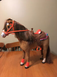 "My life 18"" doll toy horse"