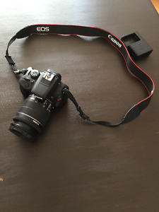 Canon EOS Rebel SL1 DSLR Camera+18-55mm VR Lens