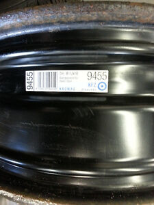 Saab Steel Wheels 6.5Jx16 5x110mm + wheel covers