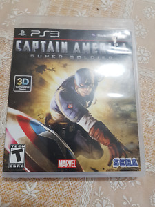 Captial America video game for ps3