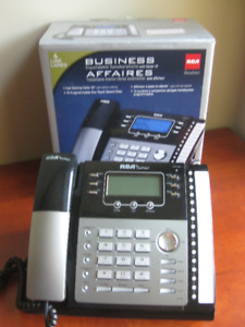FOR SALE:  8 RCA 4-Line Business Telephones