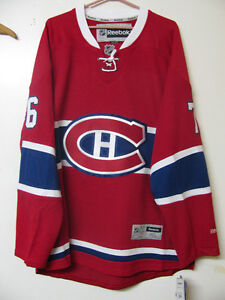 NHL REEBOK OFFICIAL MONTREAL CANADIENS HOCKEY JERSEY / NWT+FREE