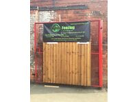 Heavy Duty Wooden Fence Panels, New Verti Lap 6X3, 6x4, 6x5, 6x6 In Nottingham, Free Delivery