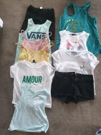 Summer womens size 8 clothes bundle