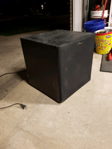 Mirage frx-s10 powered subwoofer