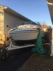 22 FT CABIN CRUISER - WASHROOM + SINK ONBOARD **Must go!**