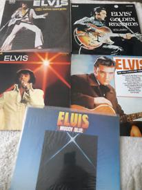 Elvis vinyl records
