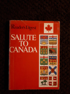 Readers Digest Salute to Canada paperback from 1967 rare
