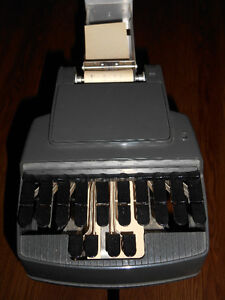 Old-fashioned Stenotype Court Reporting Machine