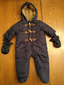 9-12m Children's Place Snowsuit
