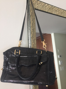 REBECCA MINKOFF leather purse