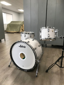 Ludwig Classic Maple 3 Piece Shell Pack - White Marine Pearl