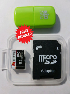 Micro sd card 64gb Class10 **special price 3 days only**