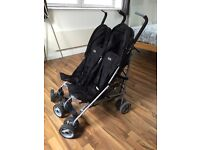 Kids double buggy/stroller