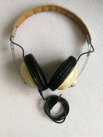 Panasonic RP-HTX7 Headband Retro Headphones - Cream