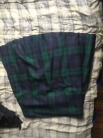 Men's black watch half-kilt (4 yard) size 34+