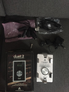 Apogee Duet 2 2 in x 4 out USB Audio interface