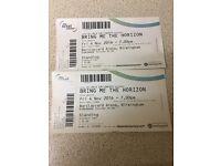 Bring Me The Horizon x2 - Birmingham 4/11/16