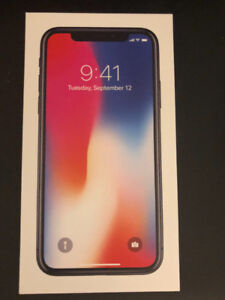 iPhone X new in box full AppleCare. +