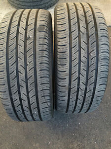 Continental Pro Contact 225 45 R17 & 245 40 R17, good condition!