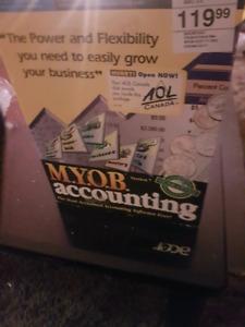 New M.Y.O.B accounting program