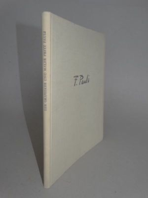 Der Graphiker Maler Fritz Pauli - Hans Kasser - Kunst Schweiz Biographie - 1946