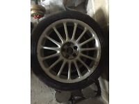 MG or Rover Alloy Rims and Tyres