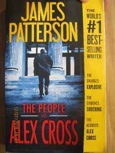 THE PEOPLE vs ALEX CROSS by James Patterson – 2018
