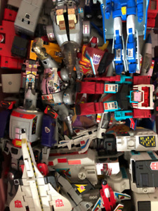 G1 Transformers and Go-Bots, individually priced