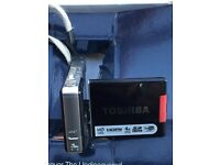 Toshiba Camileo S10 Camcorder Excellent Little Camera with New Card