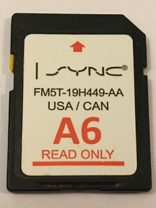 FORD LINCOLN A6 MAP UPDATE NAVIGATION SD CARD SYNC GPS MAPS OEM